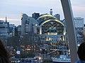 Illuminated Charing Cross station seen from the London Eye - panoramio.jpg