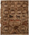 Illustrated family record (Fraktur) found in Revolutionary War Pension and Bounty-Land-Warrant Application File... - NARA - 300057.jpg
