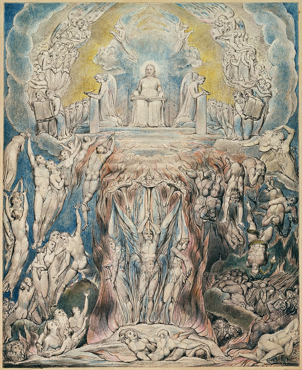 Illustrations to Robert Blair's The Grave , object 12 The Day of Judgment