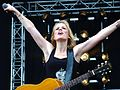 Ilse DeLange op Zwarte Cross 2011.jpg
