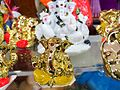 Images of Ganesh Chaturthi - Miniature Images of Lord Ganesha at a gift shop in Bengaluru.jpg