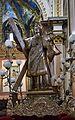 Imatge de sant Vicent, diaca i màrtir, Josep Esteve i Bonet, catedral de València.JPG
