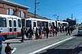 Inbound train at San Jose and Geneva, May 2011.jpg