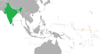 India–Kiribati relations Diplomatic relations between the Republic of India and the Republic of Kiribati