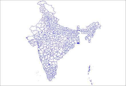 Districts of India - List of districts in India