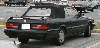 Infiniti M - 1990-1992 M30 convertible