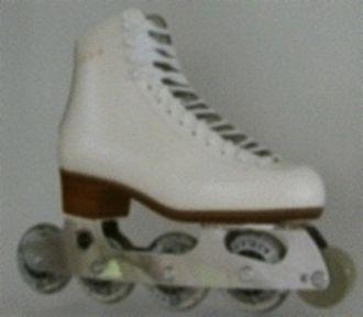 Inline skates - An inline skate designed for artistic roller skating