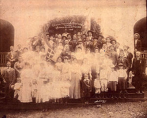 Italian immigration to Mexico - Italian community of Monterrey in 1905