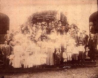 Italian immigration to Mexico - Italian community of Monterrey in 1905