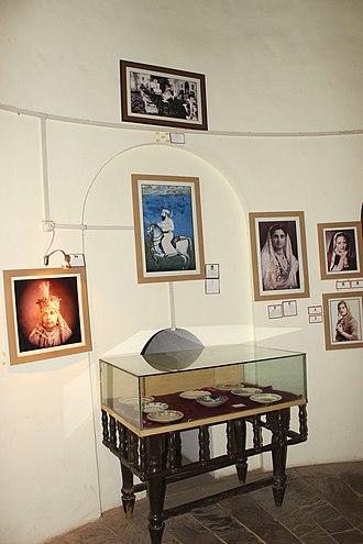 Hamidullah Khan - Inside golghar Bhopal