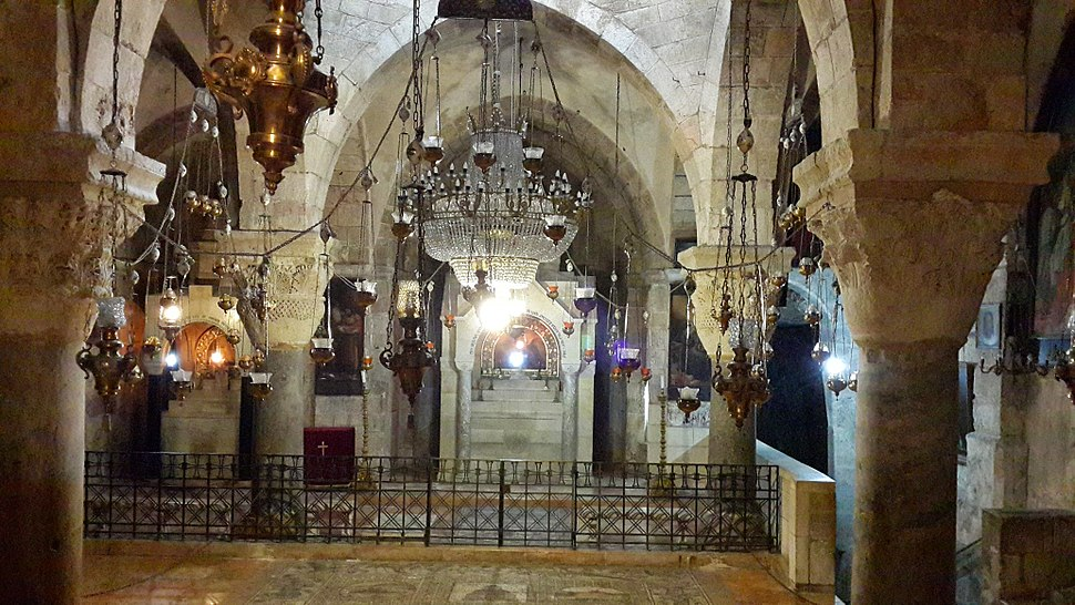 Inside the Church of the Holy Sepulchre - 25