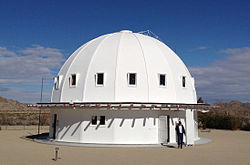 The Integratron in Landers.