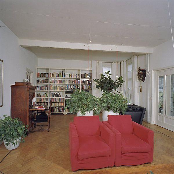 File interieur grote woonhuis overzicht woonkamer rasquert 20362988 wikimedia - Interieur woonkamer ...