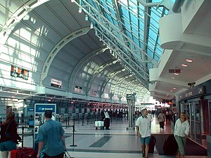 Toronto Pearson International Airport - The Grand Hall of Terminal 3