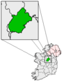 Ireland map County Longford Magnified.png