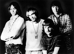 Photographie d'Iron Butterfly en 1969.