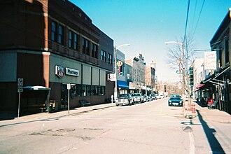 Irwin, Pennsylvania - Irwin's Main Street