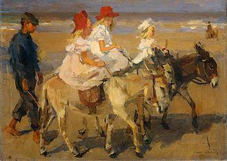 Isaac Israëls - Image: Isaac Israels Donkeyride