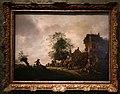 Isack van ostade, viaggiatori fuori da una taverna, 1645.jpg