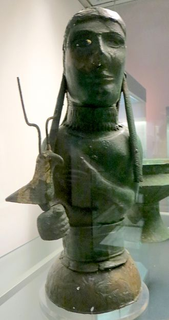 Vulci - Bronze statue from the Isis Tomb in the British Museum