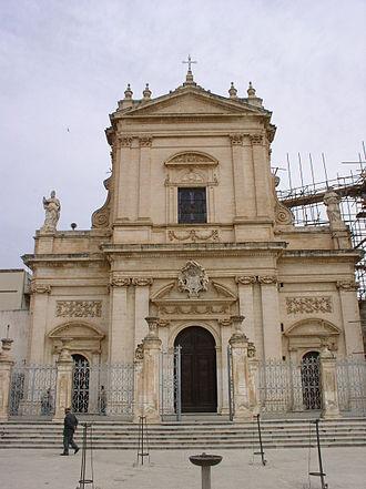 Ispica - Vincenzo Sinatra's Basilica di Santa Maria Maggiore.