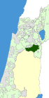 Israel Map - Gilboa Regional Council Zoomin.svg