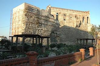 Ayvansaray - Tekfur Palace in Ayvansaray