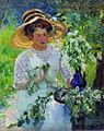 Ivan Kulikov Bird Cherry. 1912.jpg