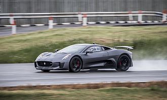 Spectre (2015 film) - After being cancelled in 2012, the Jaguar C-X75 was recommissioned to appear in Spectre.