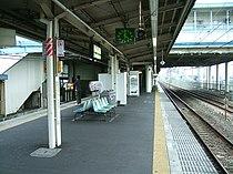 JREast-Tokaido-main-line-Tsujido-station-platform.jpg