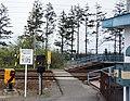 JR Hakodate-Main-Line Toyohoro Station Railroad railway crossing.jpg