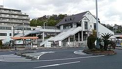 JR Takaida Station south entrance.jpg