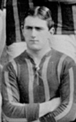 Jack Sibbald - Sibbald while with Brentford in 1912.