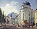 Jakob Alt - Hofburg und Franziskanerkirche in Innsbruck - 1845.jpeg
