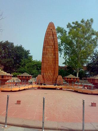 Benjamin Polk - Jallianwala Bagh memorial, Amritsar