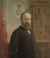 James A. Garfield, portrait by Gilman in the LOC.png