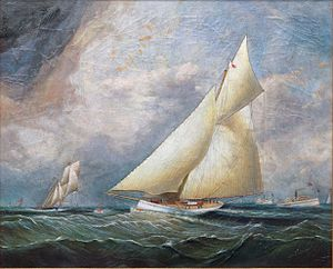 James Edward Buttersworth - 'Puritan' leading 'Genesta'.jpg