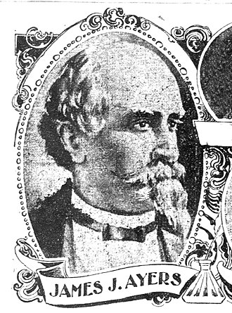 Los Angeles Herald-Express - Express owner and editor, image dated 1897