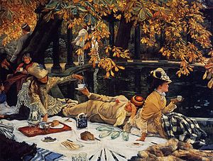 Holyday (Tissot painting) - Image: James Tissot Holyday