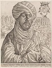 Portrait of Mulay Ahmad