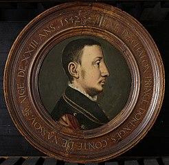Portrait of René de Châlon (c. 1519-44), Prince of Orange