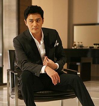 Jang Dong-gun - Jang Dong-gun in an LG ad in 2011