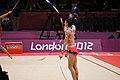 Japan Rhythmic gymnastics at the 2012 Summer Olympics (7915148110).jpg