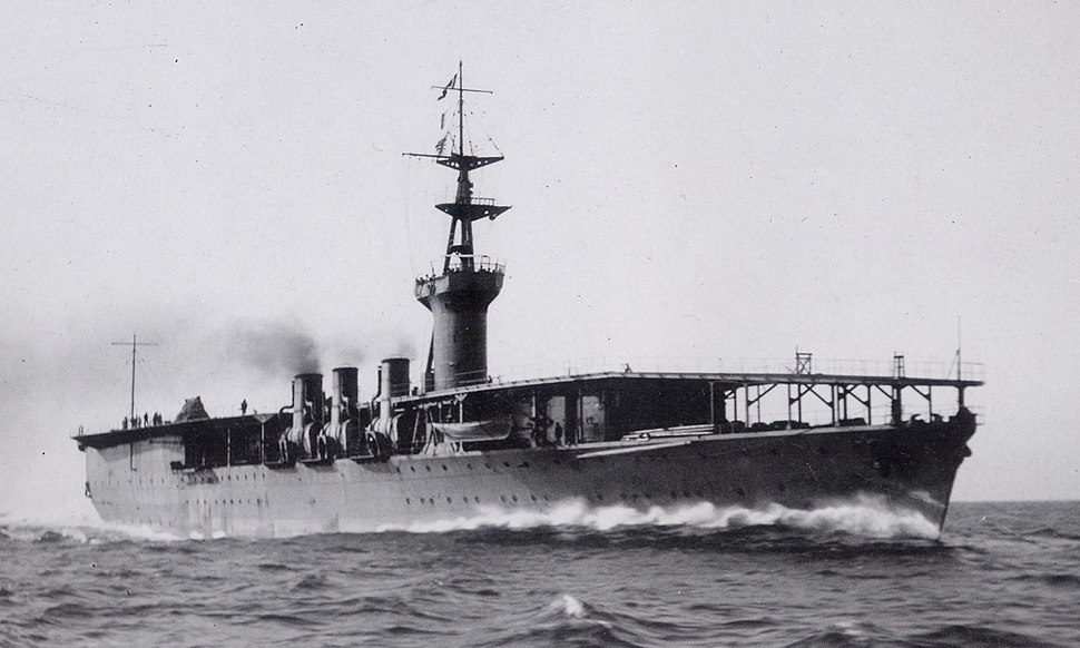 Japanese aircraft carrier Hosho 1922