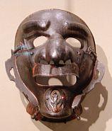 Japanese armored mask Asian Art Musem SF