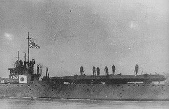 Type D submarine - Image: Japanese submarine I 363