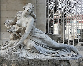 Hippolyte Lefèbvre - Niobe, Jardin d'Été, Arles