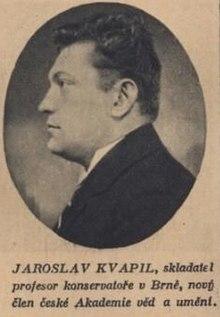 Profesor Jaroslav Kvapil