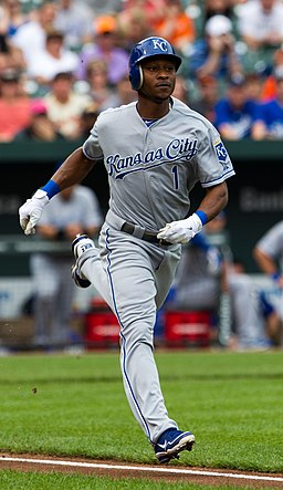 Jarrod Dyson on May 26, 2012
