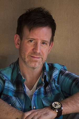 Jason Paul Collum - Head shot of writer, director, producer, actor Jason Paul Collum. Image (unused) was taken to accompany an article on the entertainer for the April/May 2013 issue of The Advocate magazine.